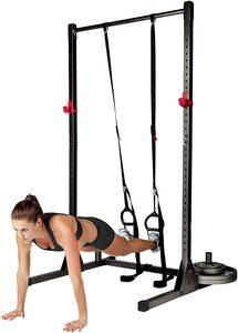 #1. CAP Barbell Exercise Power Rack Stand, Multiple Colors