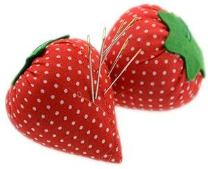 #10 2PCS DIY Craft Strawberry Pin Cushion