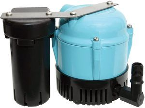 #10. Little Giant 550521 1-ABS Discharge Shallow Pan Condensate