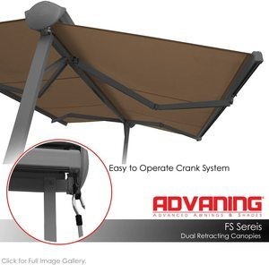 #11 ADVANING FS1410-A208H FS Series Manual Retractable Awning