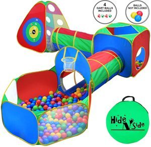 #2 5pc Kids Ball Pit Tents and Tunnels
