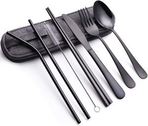 #2 Portable Stainless Steel Flatware Set