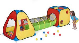#3 UTEX 3 in 1 Pop-Up Play Tent