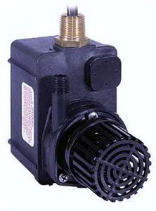 #3. Little Giant 518550 Submersible Washer Pump, Black