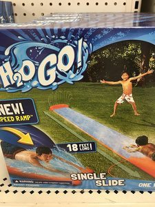 #4 H2OGO! Single Water Slide With Speed Ramp