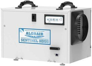 #4. AlorAir Crawl Basement Space Dehumidifier 55 PPD (AHAM)