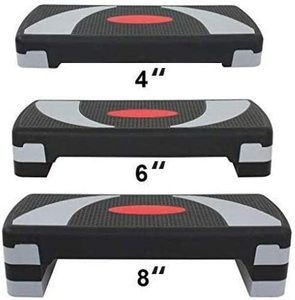 #4. HomGarden 31-Inch Workout Stepper –Aerobics, Fitness