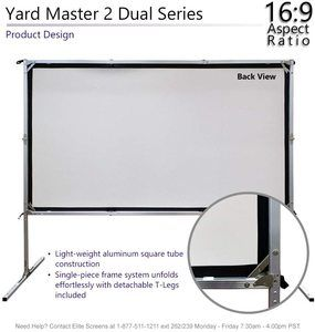 #4.Elite Screens Yardmaster Projector Screen