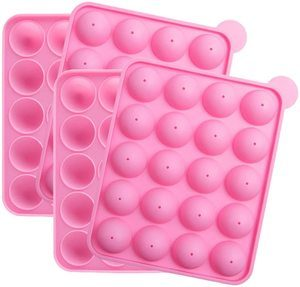 #5 Tosnail 2 Pack of Silicone 20-Cavity Cake Pop Mold