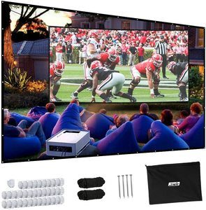 #6. Projector Screen, 150-inch Projector Scre