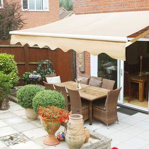 #7 XtremepowerUS Retractable Patio Sun Shade