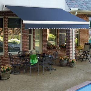 #9 12 ft. Maui Manual Retractable Awning