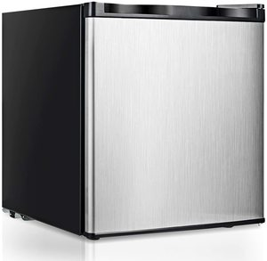 #9 COSTWAY Single-Door Compact Upright Freezer
