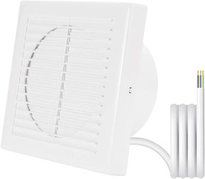 #9. Hon&Guan Home Ventilation Home Bathroom Garage 6-Inch