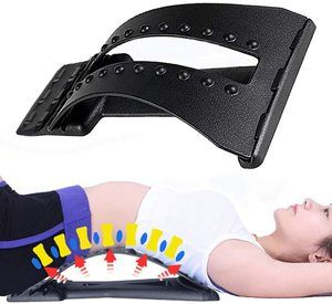 #9. Magic Back Stretcher Back Lumbar Support Device