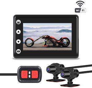 #3. VSYSTO Video Driving Motorcycle Dash Cams