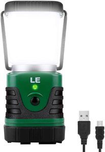 #3.LE LED Camping Lantern Rechargeable, 1000LM
