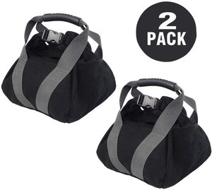 #9. Thsinde 2-Pack Adjustable Kettlebell