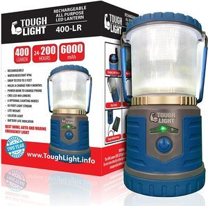 #9.Tough Light LED Rechargeable Lantern