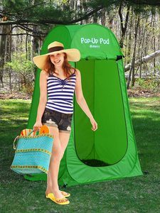 #1. GigaTent Pop Up Privacy Tent