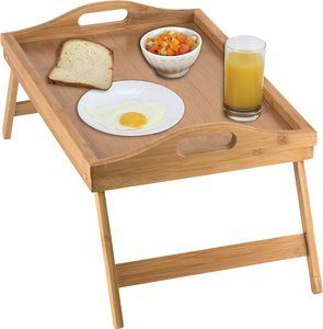 #1. Home-it Folding Bed Tray