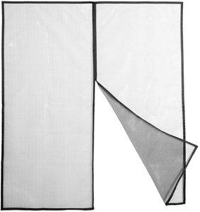 #10. Austin & Mills Magnetic Screen Door with Hooks and Loops