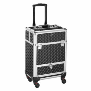 10. Mefeir Water-resistant Rolling Makeup Artists Cases
