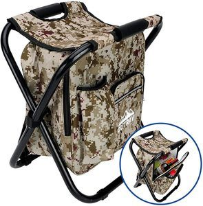10. Outrav foldable backpack chair with cooler