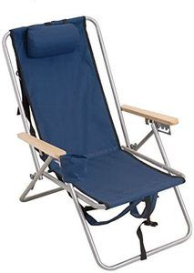 #2. Rio Gear adjustable compact chair with stapes