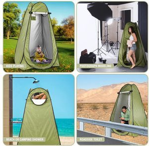 #3. Pop Up Privacy Tent By Abco Tech