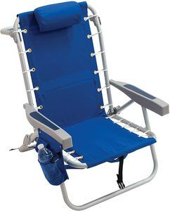 #4. Rio Gear adjustable camping chair