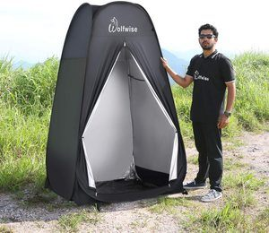 #4. WolfWise 6.6FT Portable Privacy Tent