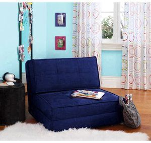 #5. Your Zone Suede Flip Chair ( Multi Colors )