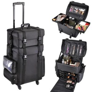 #6. AW Makeup Artists Cases with Handle