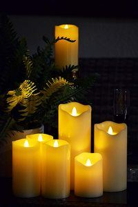 #6. Flickering Flameless Candles with Timer