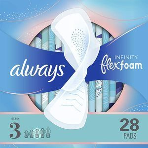 #7. Always Pad for Heavy Periods