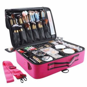 #7. GZCZ Makeup Artists Cases with Dividers