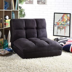 #7. Lounge Flip Chairs For Sleeping in Gray