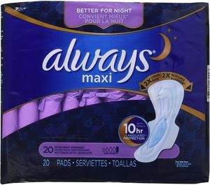 #8. Always Pad for Heavy Periods
