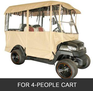 # 8. Happybuy PVC Polyester Golf Cart Cover