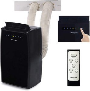 #8. Honeywell Dual Hose Portable AC with Overload Protection