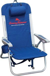 #8. Tommy Bahama folding backpack chair