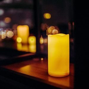 #8. Waterproof Outdoor Flameless Candles with Timer