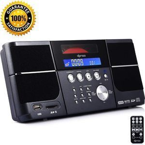#9 DPNAO Cd Player Portable Boombox