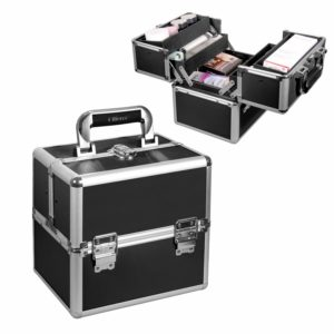 #9. Ollieroo Lightweight Makeup Artists Cases