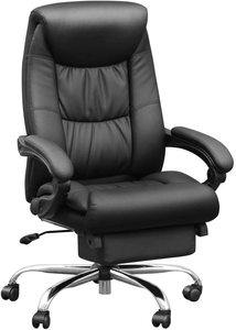 #1 Duramont Leather Reclining Office Chair