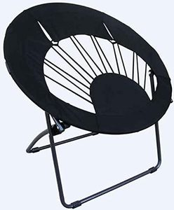 #4 Black Round Chair