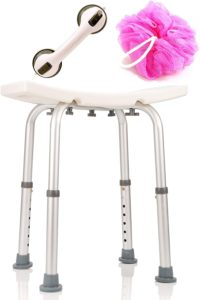 #1 DR. MAYA Adjustable Shower and Bath Chair