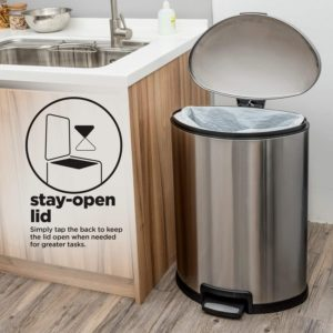 #12 Home Zone Living Trash Can
