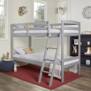#6. Dream On Me Logan Twin Over Twin Bunk Bed